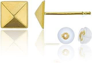 Best pyramid stud earrings gold Reviews