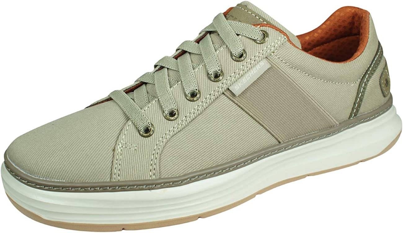 Skechers Moreno Max 57% OFF Ridson Mens Casual Sneakers Reservation Shoes-Beige-10.5