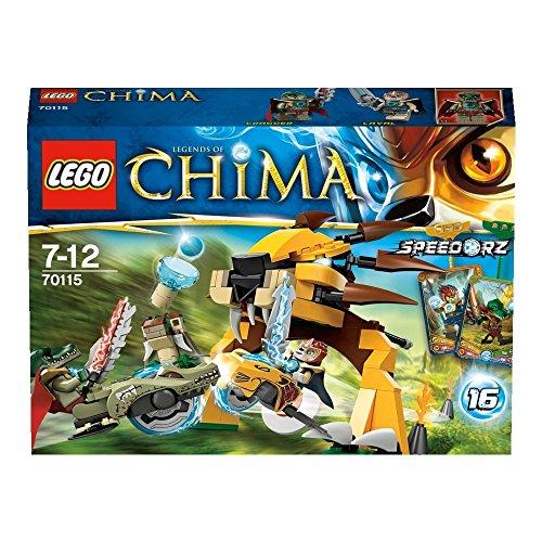 LEGO Legends of Chima - Sets de competición: Torneo de speedor definitivo (70115)