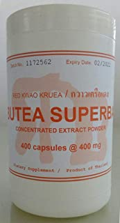 Tongkatali.org's Butea superba extract, 400 caps @ 400 mg, 139 AUD