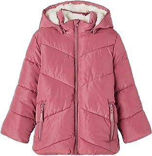 NAME IT Mädchen Nmfmake Puffer Jacket Camp Winterjacke