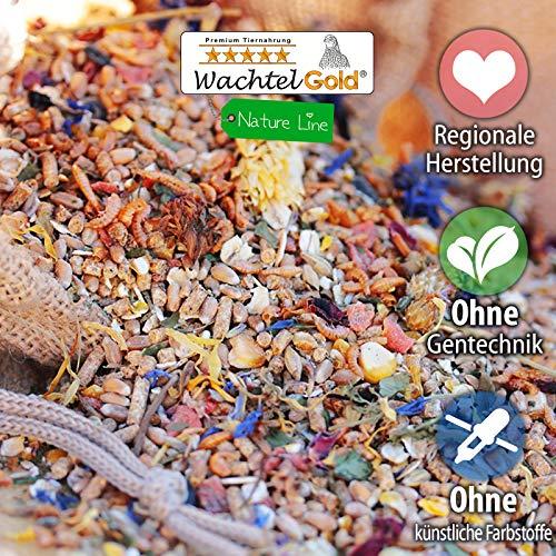 WachtelGold® Comida Premium de Pollo │ 20kg │ ✓ sin OGM │ con ...