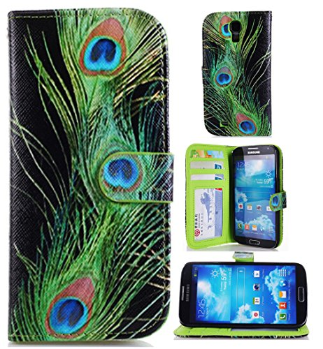 Samsung S4 Leather,Samsung S4 Case,S4 Flip Case,Canica Colorful Printe Wallet Cover for Samsung Galaxy S4 i9500