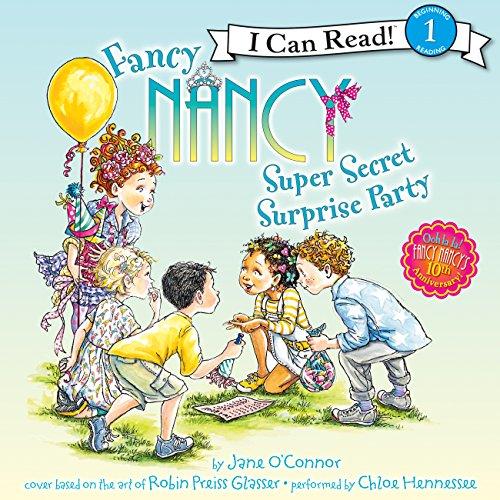 Fancy Nancy: Super Secret Surprise Party audiobook cover art