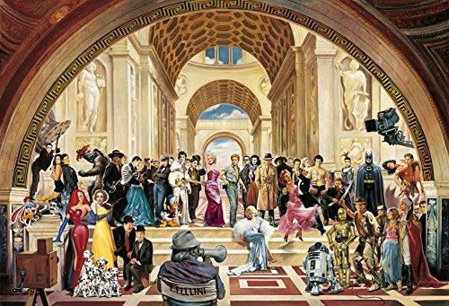 Renato Casaro Poster/Kunstdruck 100 Years of Film 100 x 70 cm