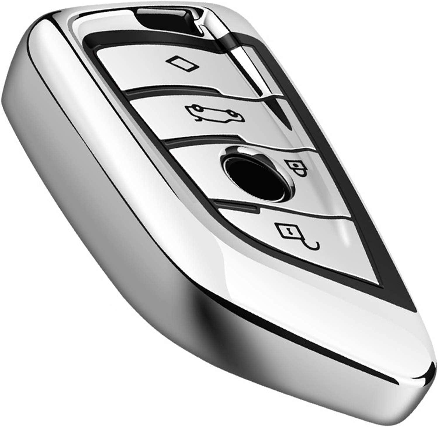 Intermerge for BMW Key Fob Cover S Case TPU Soft Max 76% Arlington Mall OFF Blade Shape