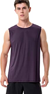 Mens Sleeveless Workout Shirts Dry Fit Gym Tank Tops for Men