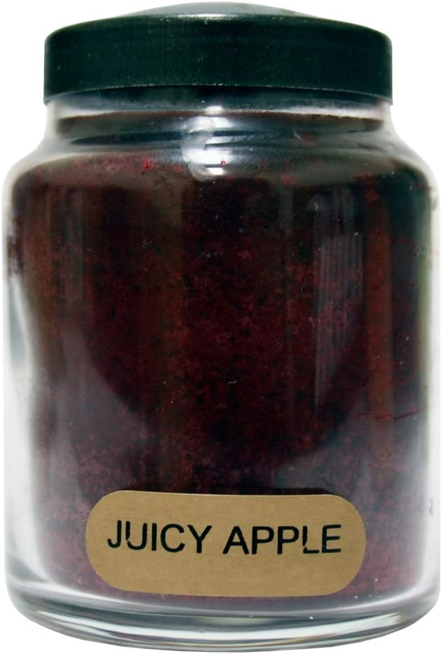A Cheerful Giver Juicy Apple 34 oz. Papa Jar Candle, 34oz: Home & Kitchen