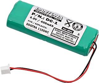 Synergy Digital Dog Collar Battery, Works with HQRP CPU Dog Collar, (Ni-MH, 4.8V, 400 mAh) Battery