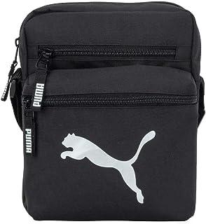 PUMA Evercat Sidewall 2.0 Crossbody Bag, Black/Silver, One Size