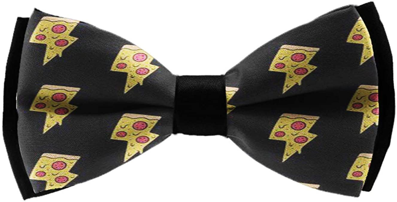 Mens Classic Pre-Tied Satin Formal Tuxedo Bowtie Adjustable Cool Pineapple Pattern