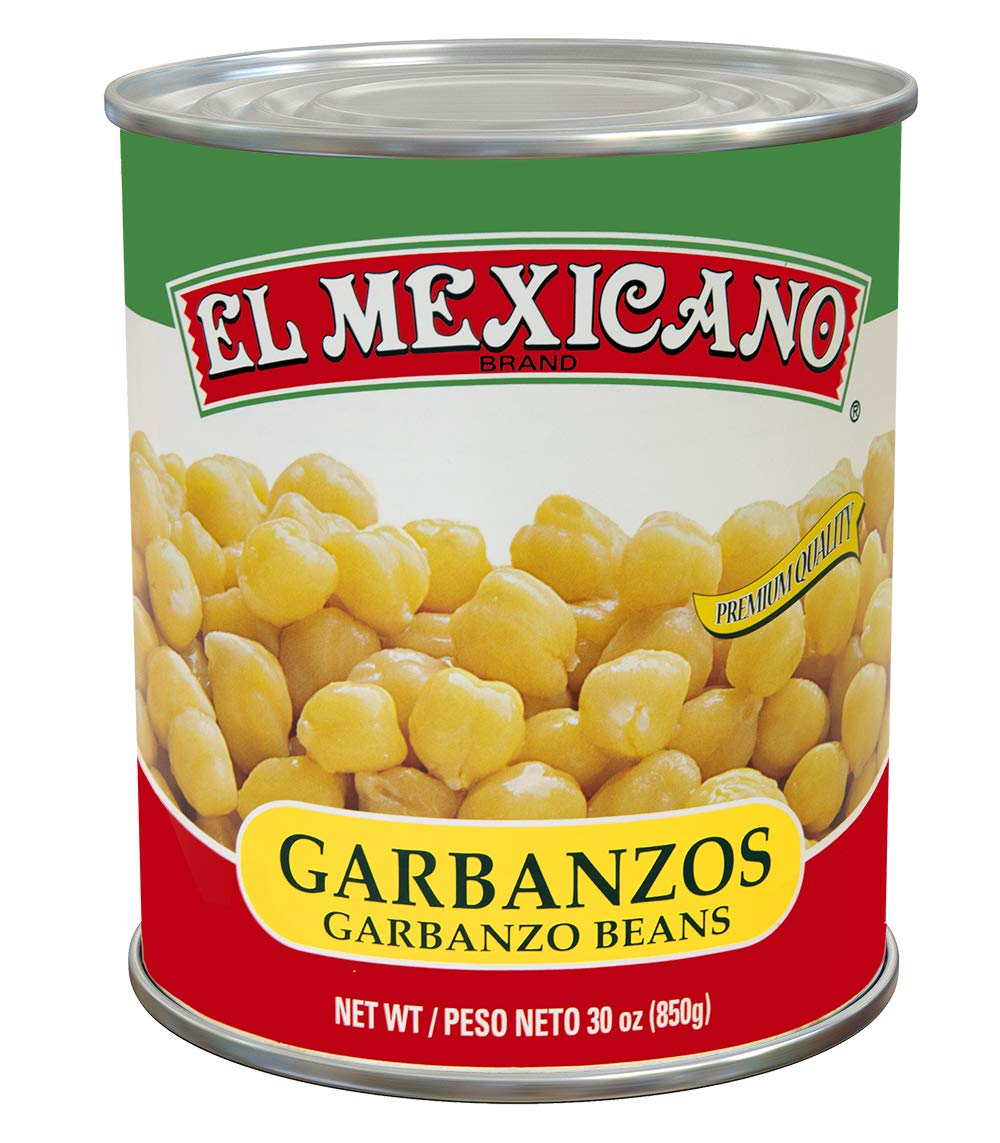 El Indefinitely Mexicano New arrival Garbanzo Beans 29oz 6 pack