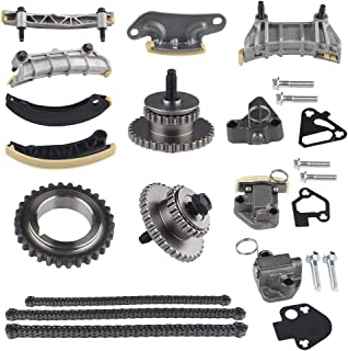 WATERWICH Compatible with 9-0753S Variable Camshaft Timing Chain Kit Buick Enclave Lacrosse Cadillac CTS SRX GMC Acadia Ch...