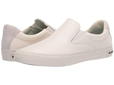 SeaVees Hawthorne Slip-On Leather (White) Women