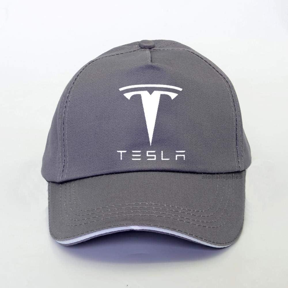 Logo Fashion Casquette De Baseball Sport Pour Tesla Voiture Moteur Sangles