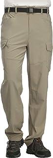 MIER Men's Lightweight Hiking Pants Quick Dry Outdoor...