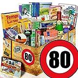 Ossi Paket / Geschenkset Spezialitäten / 80 Geburtstag / Geschenkideen Opa