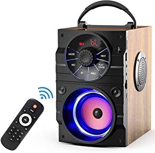$155 » ZXQZ Speakers Portable Bluetooth Speakers, Subwoofer Heavy Bass Wireless Outdoor Speaker, Support Remote Control FM Radio ...