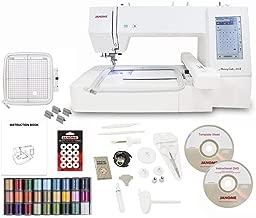 Janome Memory Craft 400E Embroidery Machine with Exclusive Bonus Bundle