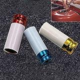 GUOLIANG Dekorativer Ventildeckel für Autoreifen Bunte Auto-Fahrrad-Motorrad-Reifen Schutzhülse for Autos (3 PCS)