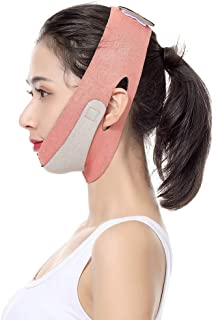 HONGMING Face Slimming Strap,Pain-Free Face Lifting Belt,V Shaped Line Chin Up Face Lift Double Chin Belt,Face Shaper Band...
