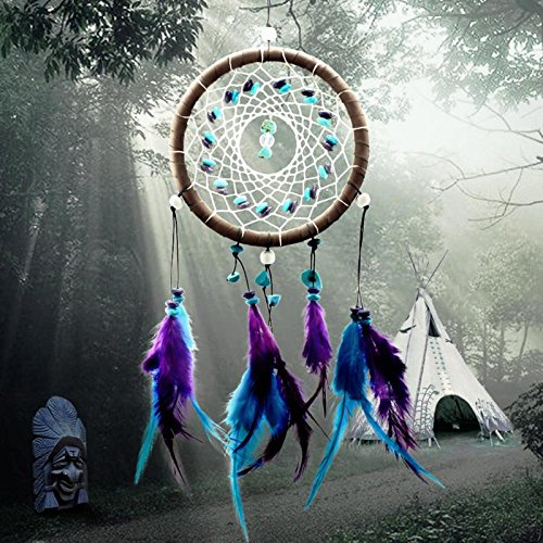Since Wind Chimes Indian Style Feather Pendant Dream Catcher Home Decor Hanging Decoration Nice Gift