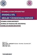 Istanbul Aydin Universitesi: Anadolu Bil Myo Dergisi (October - November - December 2017 - Number) (Turkish Edition)