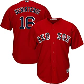 Outerstuff Andrew Benintendi Boston Red Sox Youth 8-20 Red Alternate Official Player Name & Number Jersey