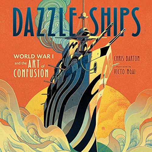 Dazzle Ships audiobook cover art