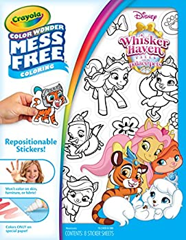 Crayola Color Wonder Mess Free Stickers Whisker Haven Palace Pets Toy