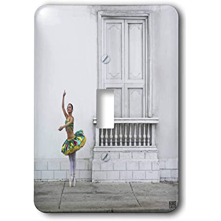 3drose Llc Lsp 10049 1 Gina A Colombian Professional Ballet Dancer In Cartagena Single Toggle Switch Switch Plates