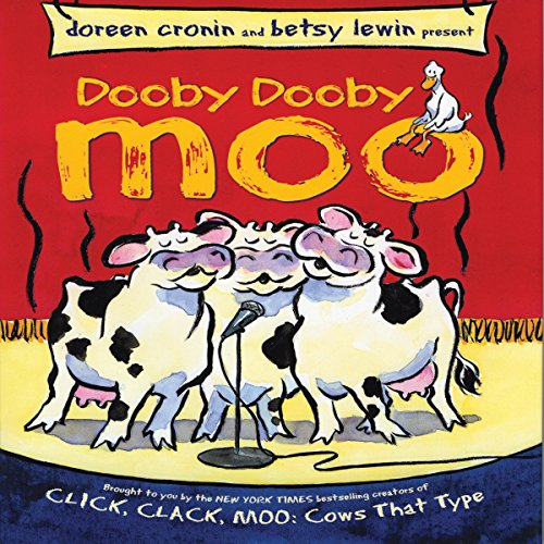 Dooby Dooby Moo audiobook cover art
