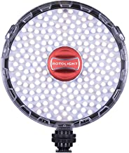 Rotolight NEO 2 LED Camera Light, Continuous Adjustable Color with built in High-Speed Sync Flash