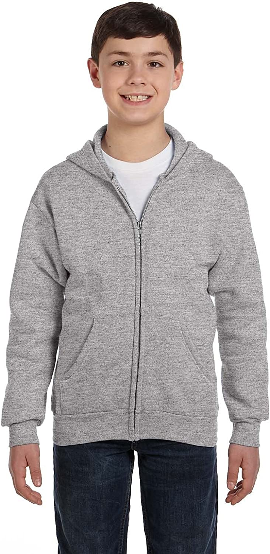 Hanes Comfortblend EcoSmart Full-Zip Gre Sweatshirt Easy-to-use Kids' Surprise price Hoodie