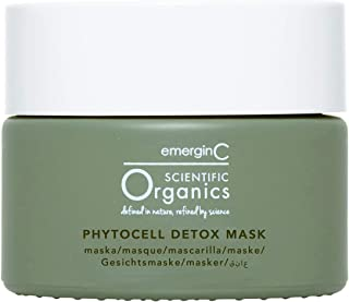 emerginC Scientific Organics Phytocell Detox Mask - Face Mask with French Green Clay, Seaweed + Plant Stem Cells (1.6 Ounc...