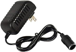 12V Power Supply AC to DC Converter Wall Plug to Car Cigarette Lighter Power Adapter, 110V-240V to 12V Current 2A Max Powe...