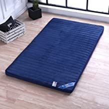 Japanese Flannel Tatami Floor Mat,Foldable Roll Up Mattress,Japanese Bed Roll,Yoga Floor Mat,Breathable Durable Mattress T...