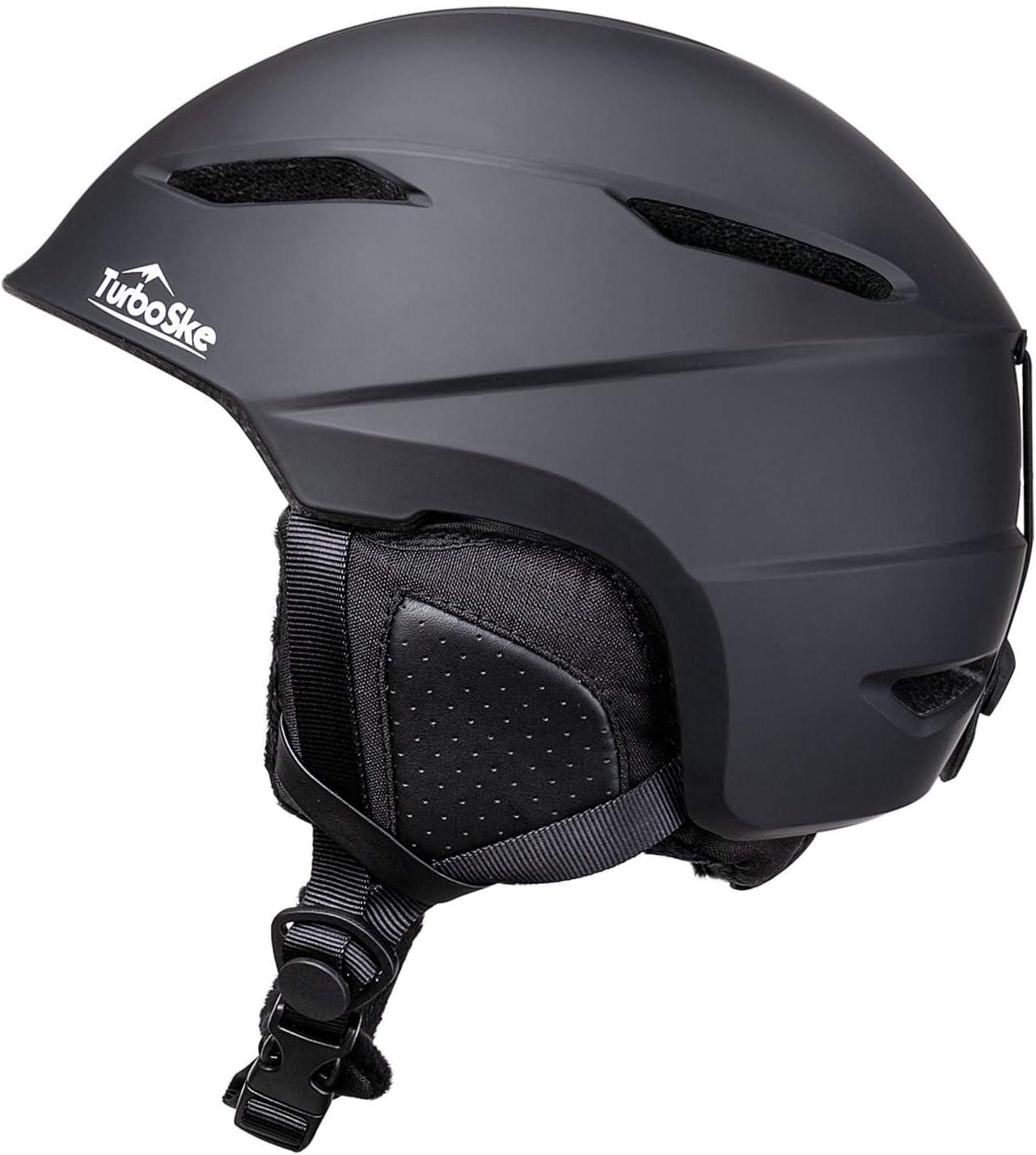 TurboSke Ski Helmet Women and Youth Snowboard Helmet Snow Sports Helmet ASTM Certified Helmet for Men Audio Compatible and Lightweight