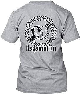 Ragamuffin Cat Vintage Women Shirt, Short Sleeve Men Tshirt