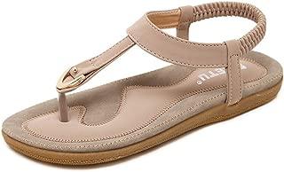 Women Boho Fashion Flat Large Size Casual Sandals Beach Shoes Flip Flop Slide Slipper Clog Mule