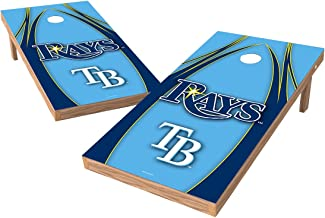 MLB Tampa Bay Rays V Design Tailgate Toss XL with Shield, Multi, 48