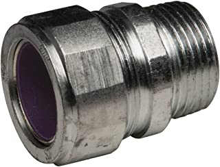 1//2-Inch Trade Size Offset 3//4-Inch Threaded Zinc Hubbell-Raco 1452-15 Nipple
