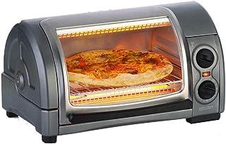 QQW Horno Eléctrico Tostador Hogar Mini Horno Máquina Desayuno Máquina Multifunción Tostada Pastel Pizza-Cn