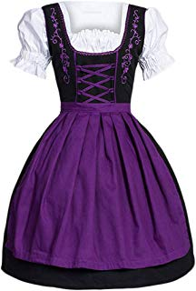 Ez-sofei Women's Vintage Sweet Lolita Maid Apron Dress Cosplay Costume Plus Size