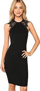 lace bodycon tunic dress