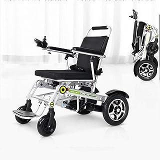 BIYADI Intelligent electric wheelchair full one-button automatic folding lightweight aluminum body / 20A-ion battery