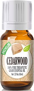 Healing Solutions Cedarwood Essential Oil - 100% Pure Therapeutic Grade Cedarwood Oil - 10ml