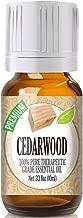 Healing Solutions Cedarwood Essential Oil - 100% Pure Therapeutic Grade Cedarwood Oil - 10ml