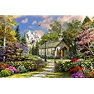 Springbok's 36 Piece Jigsaw Puzzle Mountain View Chapel