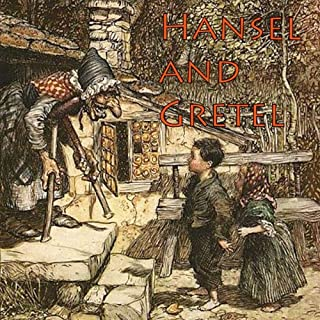 Hansel and Gretel audiobook cover art